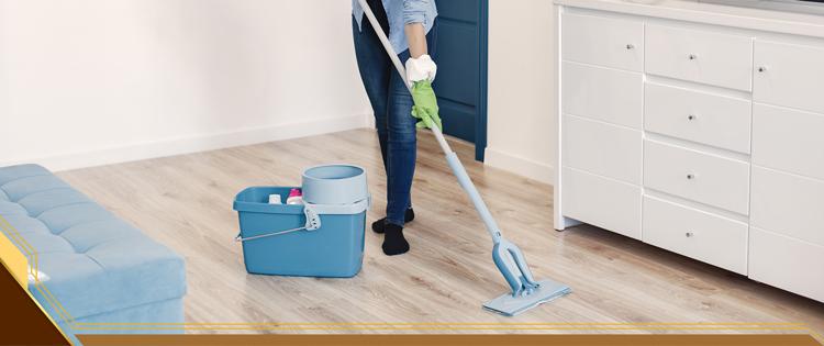 cara membersihkan dan merawat lantai vinyl