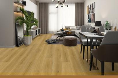 motif lantai vinyl alvera untuk ruang tamu keluarga